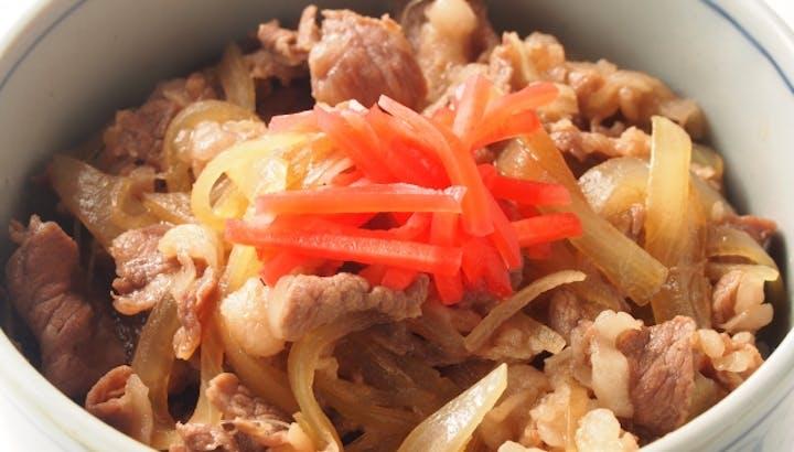 牛丼は高カロリー・高糖質!糖質制限メニューが外食の強い味方!