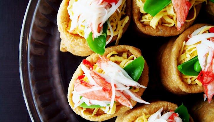 いなり寿司のカロリーと糖質をオフして美味しく食べる!糖質制限の方向けレシピも