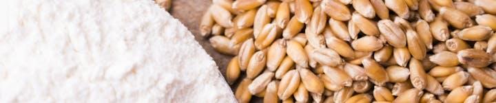 小麦粉はご飯よりも低カロリー!強力粉ならさらに糖質少なめになる!