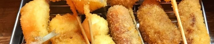 串カツのカロリー・糖質を徹底解説!ダイエットの敵か味方か